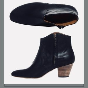 Isabel Marant Black leather Booties Size 11